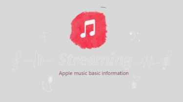 【Apple Music】基本情報