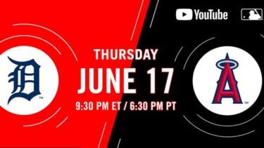 【MLB.TV】YouTube & free Live stream 6月 スケジュールリスト