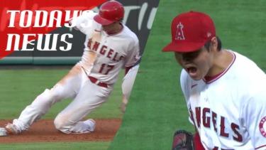 【MLB】メジャーリーグ 本日のOHTANI-SAN! 大谷投手出場で先制打&盗塁&7回1失点!