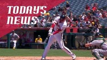 【MLB】メジャーリーグ 本日のOHTANI-SAN! 大谷は決勝の弾丸ツーベース!ダルビッシュ6敗目!秋山は久しぶりのマルチ!