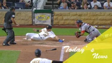 【MLB】メジャーリーグ 本日のOHTANI-SAN! 大谷はシングル1本のみ!ゲレーロJr.が43号放ち1本差に!筒香本塁突入アウトも走路妨害で判定覆りホームイン!